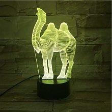 Creative Kids Gifts Acrylic Camel Animal Table