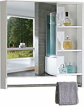 Creative LDF Wall Mounted Mirror Cabinet for