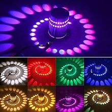 Creative LED Spiral Effect Wall 3W Ceiling