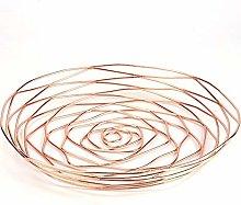 Creative Metal Fruit Bowl, Wire Fruit Basket,