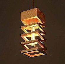 Creative Nordic Wooden Chandelier Personality