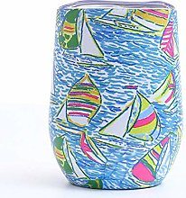 Creative Pattern Cup Tumbler Egg Shell Kettle
