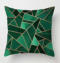 Creative Patterned Soft Cushion Covers (Emerald