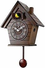 Creative Pendulum Wall Clock Cuckoo Birds Living