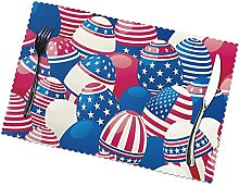 Creative Placemats Table Mats Non-Slip Washable