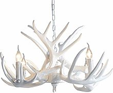 Creative Resin Antler Chandelier,Deer Horn Light