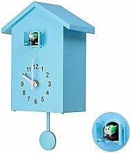 Creative Retro Home Cuckoo Arab Numeral Wall Clock