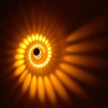 Creative Spiral Ceiling Light Round Modern