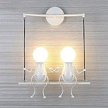 Creative Wall lamp, Indoor Creative Cartoon Little