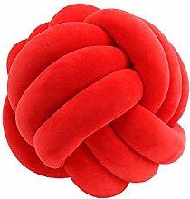Creative Woven Long Knot Ball Pillow Protector