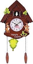 Creely Cute Bird Wall Clock Cuckoo Alarm Clock