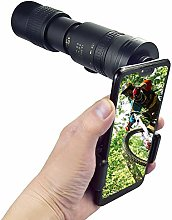 CREPUSCOLO 4K 10-300X40mm Super Telephoto Zoom