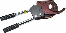Crimping Pliers Ratchet Cable Cutter, Portable