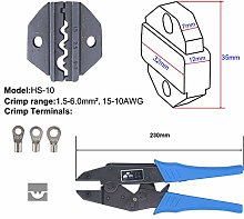 Crimping Tool Ratcheting Wire Crimper Tool and