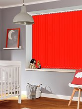 Crimson 89mm Blackout Vertical Blind