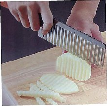 Crinkle Cutter Potato Garnishing French Fry Cutter
