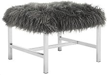 Cristian Upholstered Bench Canora Grey Upholstery:
