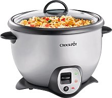 Crock-Pot 2.2L Saute Rice Cooker - Silver