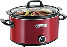 Crock-Pot 3.5L Slow Cooker - Red