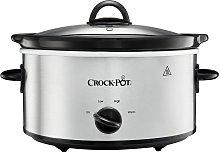 Crock-Pot 3.7L Slow Cooker - Stainless Steel