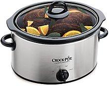 Crock-Pot 37401BC-I Slow Cooker, Brushed Chrome