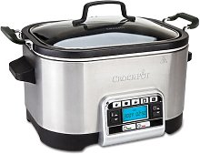 Crock-Pot 5.6 L Stainless Steel Digital Slow and