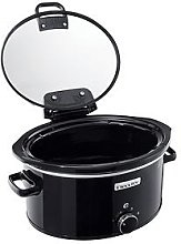 Crock-Pot 5.70-Litre Hinged Lid Slow Cooker