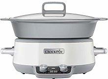 Crock-Pot 6L DuraCeramic Sauté Slow Cooker CSC027