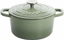 Crock Pot Artisan Round Enameled Cast Iron Dutch
