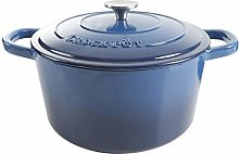 Crock-Pot Artisan Round Enameled Cast Iron Dutch