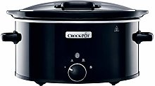 Crock-Pot CSC031 Slow Cooker with Hinged Lid, 5.7