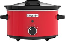 Crock-Pot CSC037 Slow Cooker with Hinged Lid, 3.5