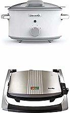 Crock-Pot CSC038 DuraCeramic Slow Cooker with