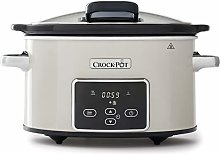 Crock-Pot Electric Slow Cooker with Hinged Lid |