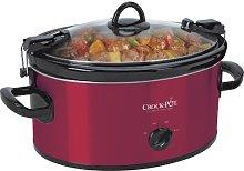 Crock-Pot SCCPVL600-R Portable Slow Cooker,
