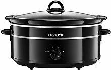 Crock-Pot SCV655B Slow Cooker, Aluminium, 300 W,
