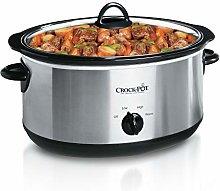 Crock-Pot SCV700-SS Oval Manual Slow Cooker,