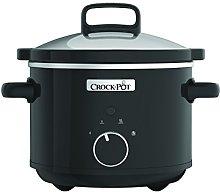 Crock-Pot Slow Cooker Cooking Pot 2.4 L Black