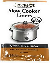 Crock-Pot Slow Cooker Liners ~ 6 liners