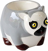 Crockery Critters Egg Cup - Ring-Tailed Lemur from