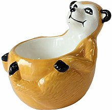 Crockery Critters Meerkat Egg Cup from Deluxebase.
