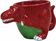 Crockery Critters T Rex Dinosaur Egg Cup from