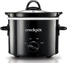 Crockpot 1.8L Slow Cooker - Black