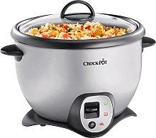 Crockpot 2.2L Saute Rice Cooker - Silver