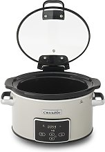 Crockpot 3.5L Digital Slow Cooker with Hinged Lid