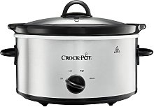 Crockpot 3.7L Slow Cooker - Stainless Steel