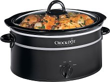 Crockpot 6.5L Slow Cooker - Black