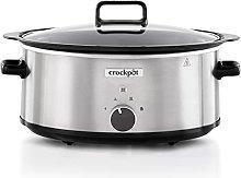 Crockpot Sizzle & Stew Slow Cooker | 6.5 L (8+