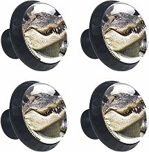Crocodile Head Teeth Cabinet Door Knobs Handles
