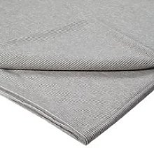 Croft Collection Euan Brushed Cotton Flat Sheet,